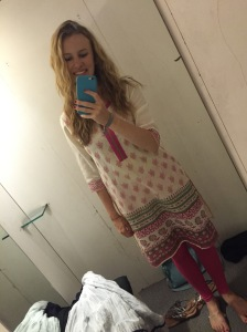Dressing room selfie ft. beautiful Indian clothes